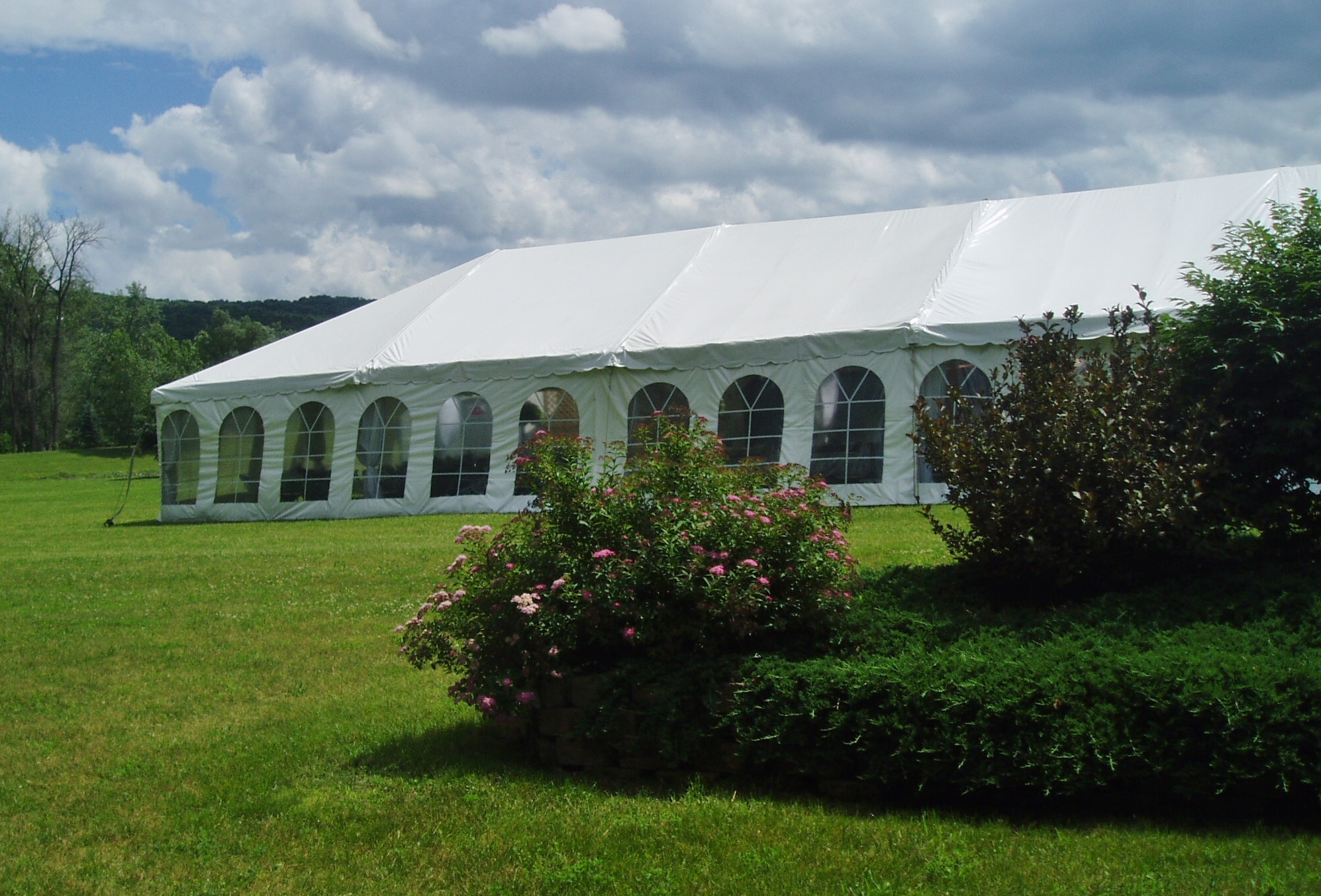 Large Tent with Windows